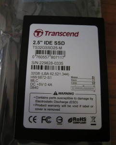 Transcend 32GB SSD